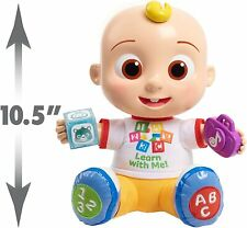 Cocomelon Interactive Learning JJ Doll Lights Sounds Music Just Play Kids New