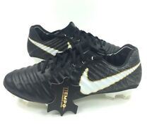 NEW Nike Tiempo Legend VII FG Mens Size 7 Black White Soccer Cleats 897752-002