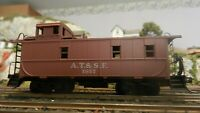 Athearn Vintage  HO BB Santa Fe Caboose, Upgraded,  Exc.