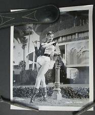 Vintage 1960s Photo of ANITA EKBERG in Jockey Outfit