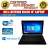 "Dell Latitude E6420 14"" Intel i5 4 GB RAM 320 GB HDD Win 10 WiFi B Grade Laptop"