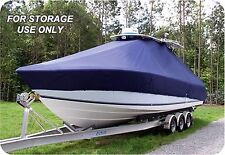 CUSTOM BOAT COVER Grady White 230 Fisherman  w/T-TOP Single Motor low rails