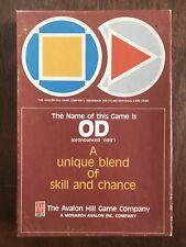 Card Game, OD, Avalon Hill, 1986