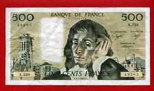 (B NF199) 500 FRANCS PASCAL 3/01/1985 A 220 ( TTB+)
