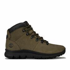 Timberland Boots World Hiker Mid Kaki Homme