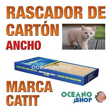 RASCADOR DE CARTÓN ANCHO GATOS CATIT Barato Garras Estiramientos