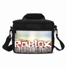 Roblox Portable Insulated Lunch Bags Kids School Lunch Thermal Cooler Picnic Box
