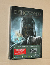 Dishonored very rare German Steelbook no Game only Steelcase G1 New & Sealed