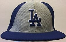 Los Angeles Dodgers New Era Baseball Fitted Hat Cap Size 7 3/8 Authentic MLB LA