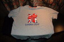 Adidas London Olympics 2012 mens t shirt size large short sleeve