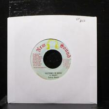 "Leroy Smart - Victory Is Mine 7"" VG+ Vinyl 45 New Sound Jamaica 1992"