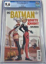DC Batman White Knight #3 Harley Quinn Variant 1st Neo Joker CGC 9.6 DC Comics
