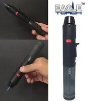 Eagle Torch Pen Gun Torch Lighter Butane Refillable Semi Transparent Tank