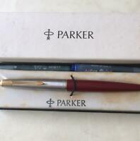 Fountain pen vintage Parker Made in USA Antique stationery f/s w/tracking