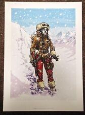 Fantasy Art PRINT Comic Illustration 2014 Pinup Sillage Wake Snow Female BUCHET