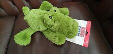 KONG Cozie Ali Alligator Dog Toy Extra Large - Donate to Our Dogs Charity