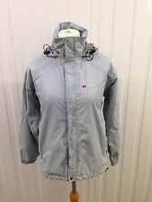 Womens Berghaus Aquafoil Jacket - Uk12 - Light Blue/Grey - Great Condition
