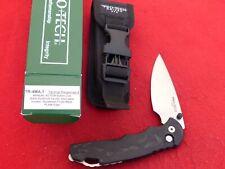 "Pro-Tech Tr-4Ma.1 Manual Nib 4"" 154Cm Satin Plain Blade knife & sheath"