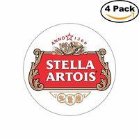Stella Artois Sticker Beer Alcohol Decal Diecut Sticker 4 Stickers