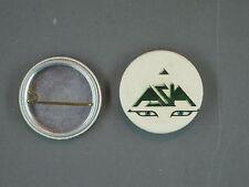 Rare Vintage Asia Button Pin 1982