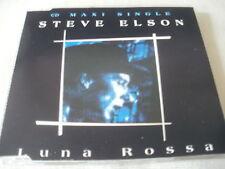 STEVE ELSON - LUNA ROSSA - 1991 CD SINGLE