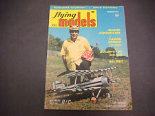 Flying Models Magazine,Radio Controlled, Feb 1971, Jungmeister, R/C Boats,Cars
