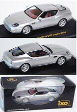 IXO MOC059 Aston Martin DB7 Vantago Zagato, Modell 2004, silber, 1:43, OVP