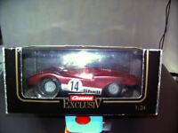 Carrera 124 Exc.  Ferrari 512 Exc. - Schachtel mit Gebrauchsspuren  !!!