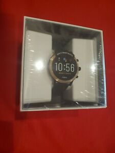 BRAND NEW Fossil Gen 5 Julianna Stainless Steel Smartwatch ROSE GOLD/BLACK
