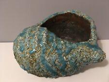 Large Heavy Shell Vase