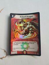 Bolzard Dragon Duel Masters Very Rare Holo Foil DM01 35/55