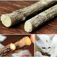 5 Pcs Pet Cat Kitten Fun Chew Stick Toy Natural Matatabi Polygama Catnip Molar D