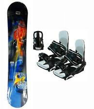 135cm Sims Evol Blem Snowboard + New Symbolic Bindings 2pc Package kid gtr52