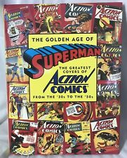 1993 Golden Age of SUPERMAN Greatest Covers ~ Artabras ~ VF 1st Ed 144 pgs