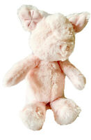 """CARTERS 11"""" Plush PIG Pink Piggy Baby Stuffed Animal Toy Curly Tail 66922 EUC"""