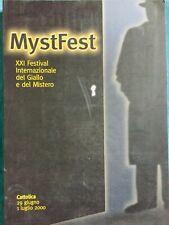 Mystfest XXI Festival Internazionale del Giallo e del Mistero. Clueb 2000