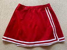 "Red Cheerleader Team Design Uniform Wrap Skirt, Womens XXL, 32""-34"" or 42-46"""
