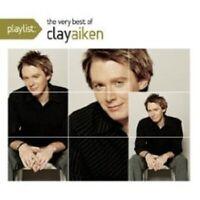"""CLAY AIKEN """"PLAYLIST THE VERY BEST OF"""" CD NEU"""