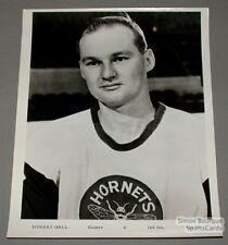 Original 1965-66 Pittsburgh Hornets Murray Hall Photo
