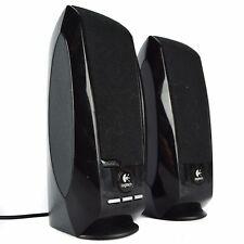 Logitech Digital USB Black PC Small Computer Laptop Speakers S-00038 S-150