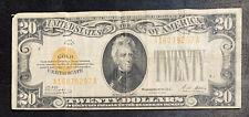 1928 $20 Gold Certificate