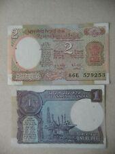 INDIA  1 & 2  RUPEE