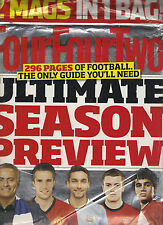2 PACK FourFourTwo ULTIMATE SEASON PREVIEW 2013-2014 Teams Rated Soccer Futbol