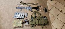 Krytac LVOA-C M4 Carbine Airsoft Gun with accessories