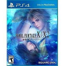 Final Fantasy X/X-2 HD Remaster W/CASE Sony PlayStation 4 PS PS4 GAME 10/10-2 FF