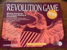 Vintage The Revolution Game Deluxe Edition American Revolution Learning Game