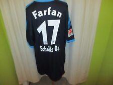 "FC Schalke 04 Adidas Auswärts Trikot 10/11 ""GAZPROM"" + Nr.17 Farfan Gr.XXXL Neu"