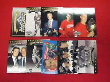 1992 Upper Deck Gordie Howe heroes hockey card set  Red Wings 10 cards