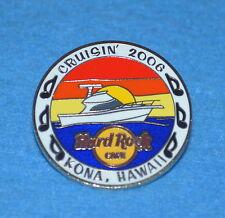 HARD ROCK CAFE 2006 Kona Boat Cruisin In Hawaiian Sunset Pin # 35123