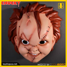 Bride of Chucky Chucky Mask Adult Size Mezco Toys
